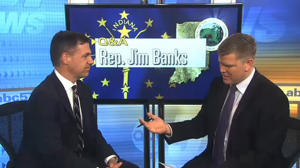 Full interview with Representative Jim Banks