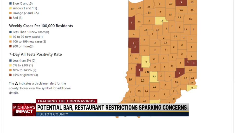 Fulton County business owners concerned about possible limitations on dine-in customers