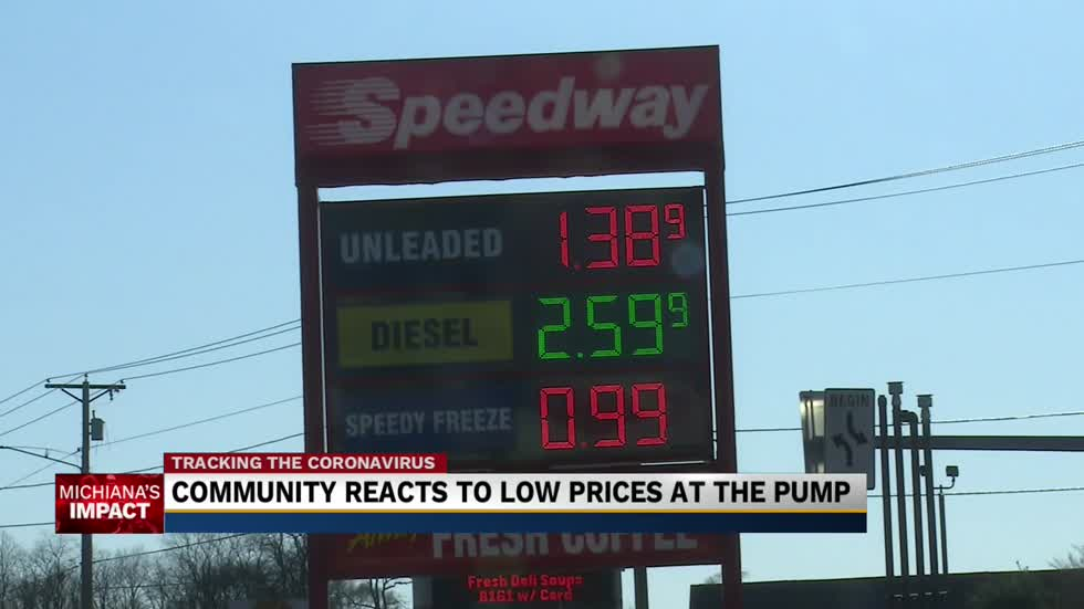 Gas prices expected to drop under $1 in Michiana