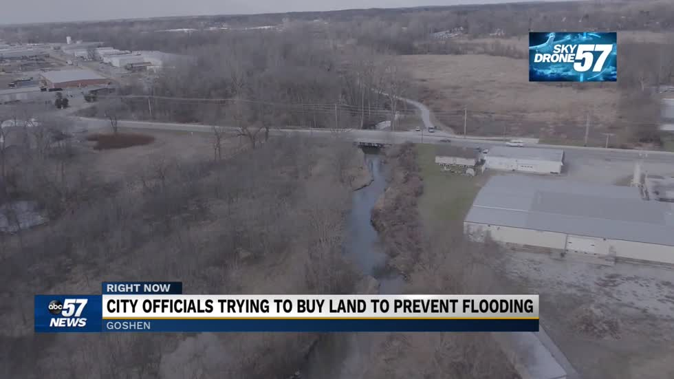 Goshen buys property for $30,000 to avoid flood risks