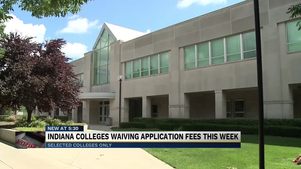 Goshen College, IU South Bend will waive application fees for final week of September