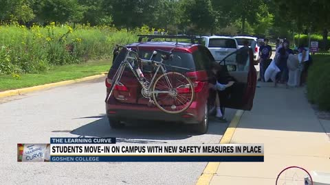 Goshen College opens for Move-In Day