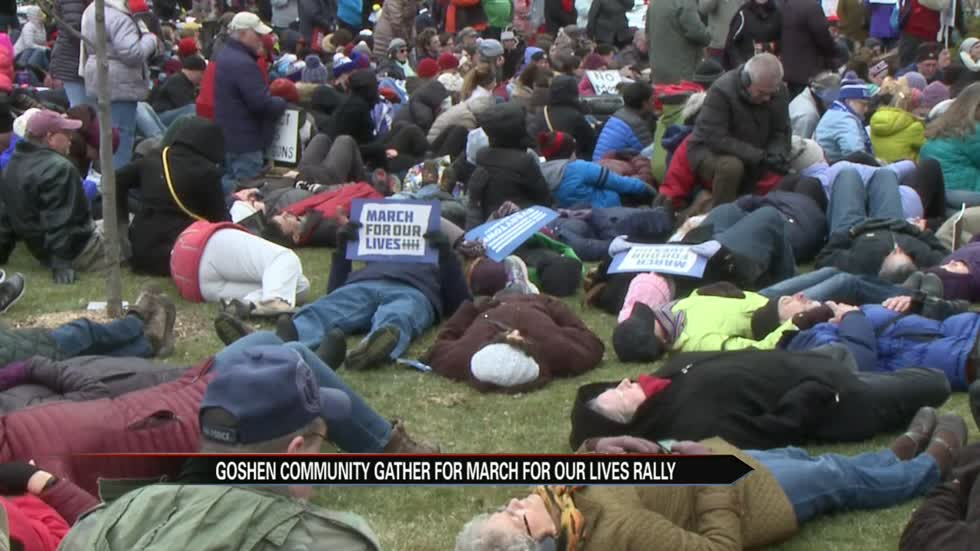 Goshen community gathers for March For Our Lives