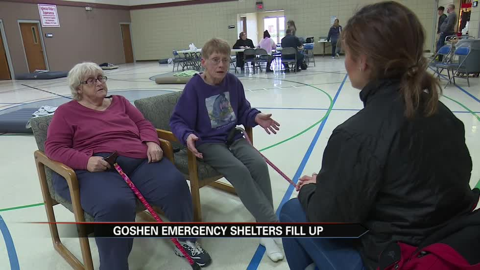 Goshen evacuees say they wish they would've acted sooner