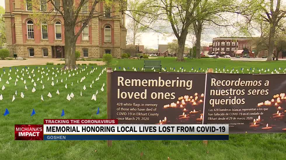 Goshen memorial honoring local lives lost from COVID-19