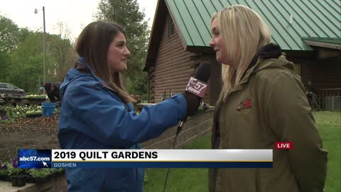 Goshen Parks Superintendent: What to expect on the Quilt Gardens...