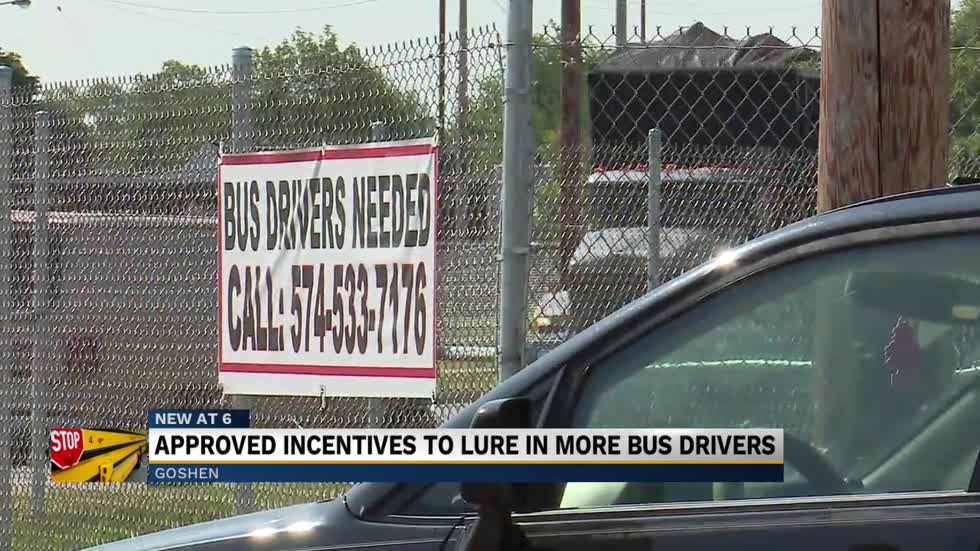 Goshen Schools hoping to attract new bus drivers through incentives