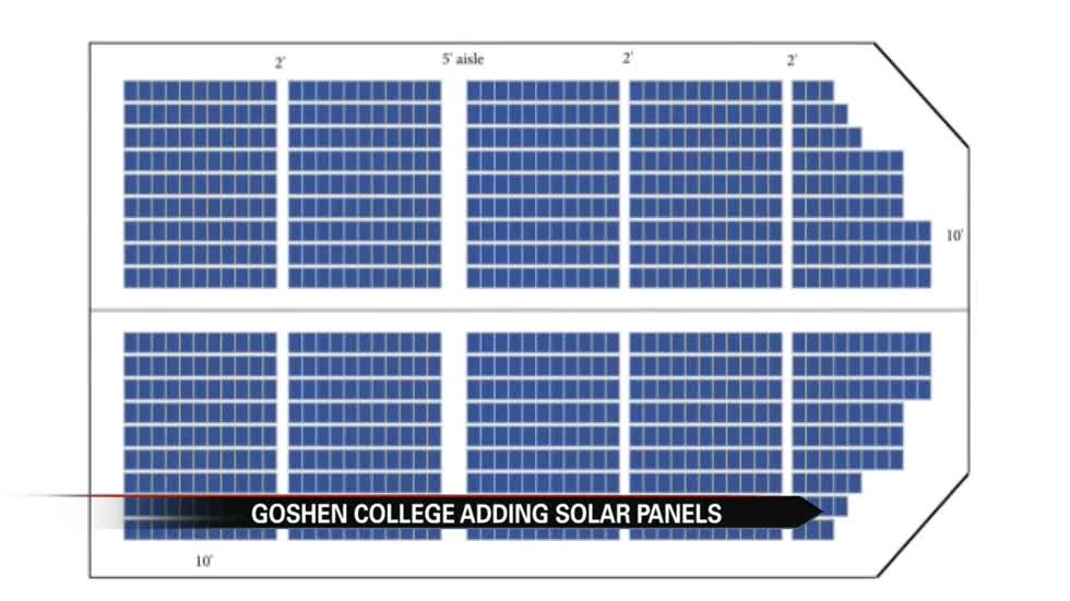 Goshen College to install solar panels on campus