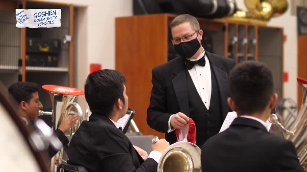 Goshen's high school band program fights to not be silenced by restrictions