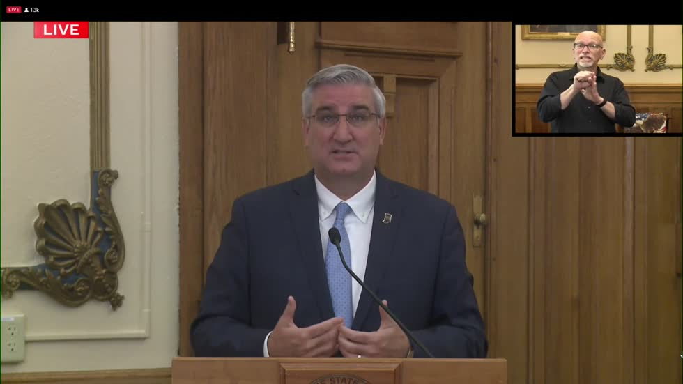Gov. Holcomb implements statewide face mask mandate