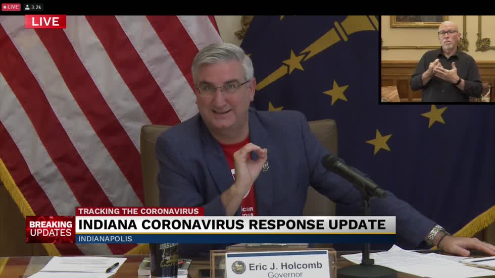Gov. Holcomb: State moving to Stage 5 on Saturday