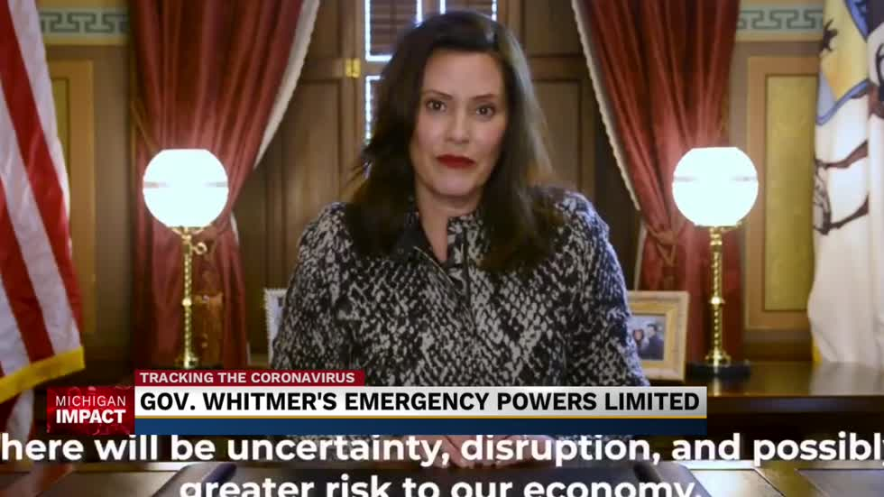 State health dept. issues new orders following Whitmer's revoked powers