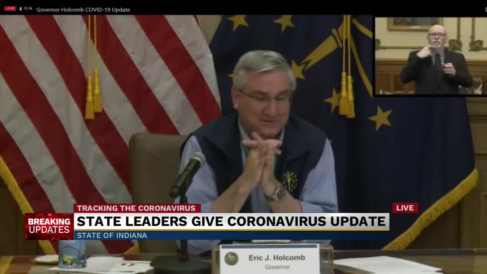 Governor Holcomb to extend stay at home order until May 1