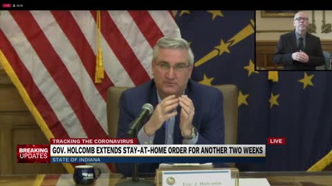 Governor Holcomb extends stay-at-home order