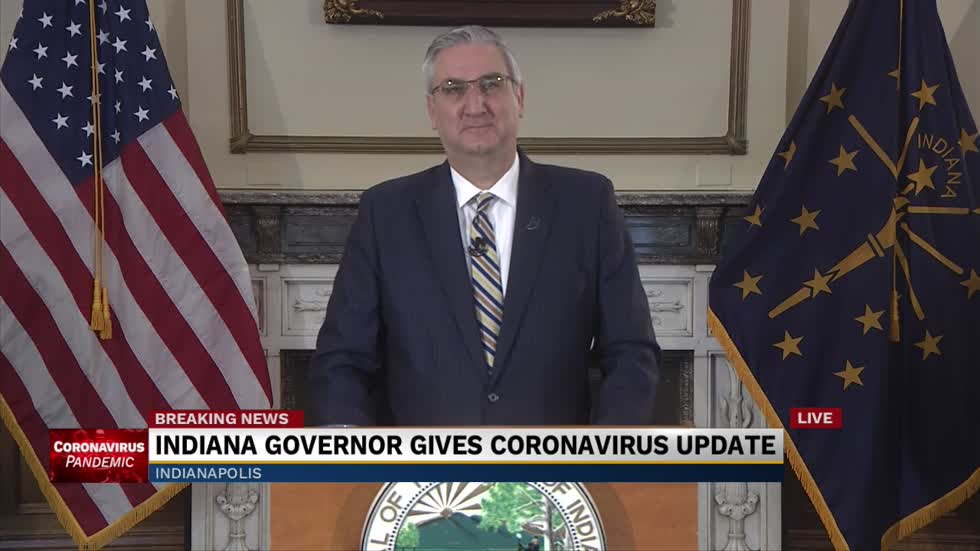 Indiana governor issues 'stay at home' order until April 7