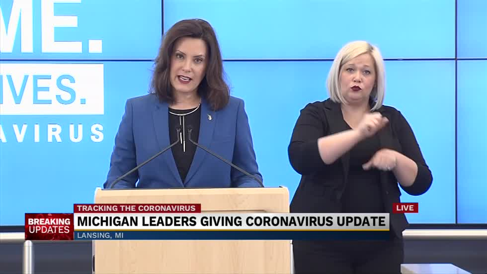 Gov. Whitmer extends stay at home order, lifts some restrictions