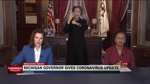 Michigan governor issues 'stay at home' order for 3 weeks
