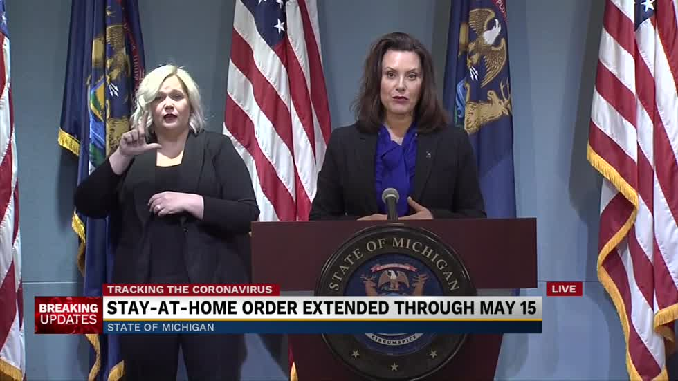 Governor Whitmer Provides Update To Covid 19 Response