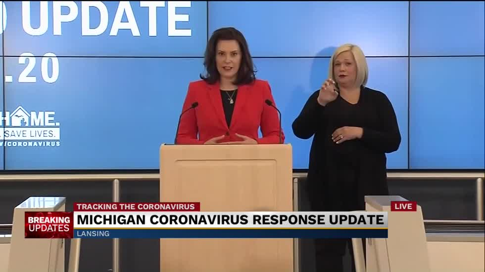 Governor Whitmer provides update to COVID-19 response ahead of local elections