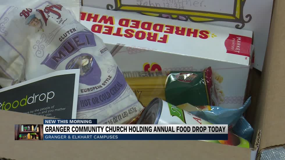 Granger Community Church to hold annual food drop today