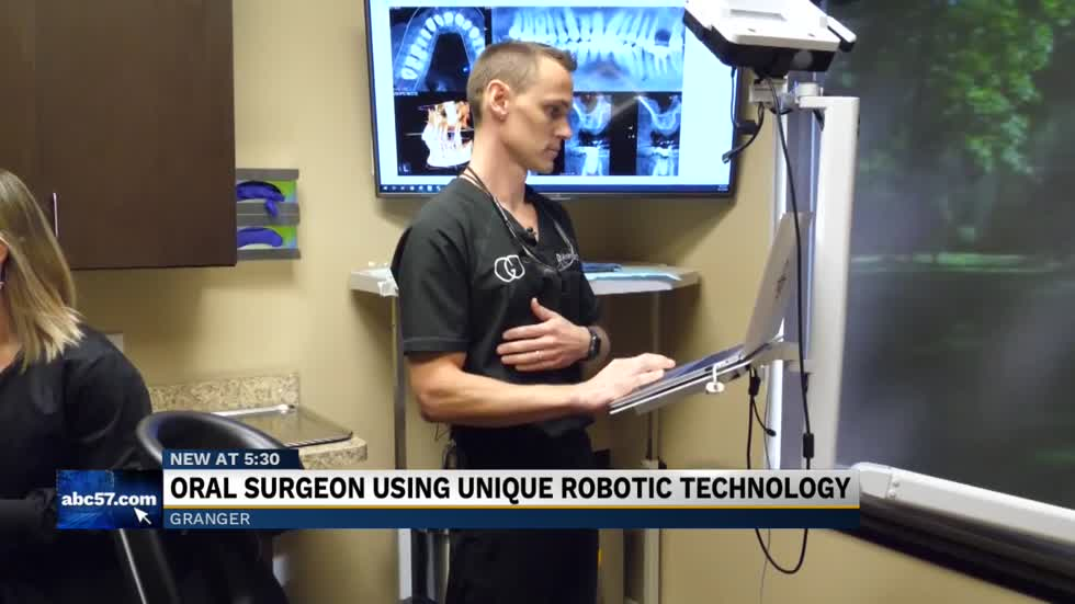 Granger oral surgeon bringing robotic technology to surgery in Michiana