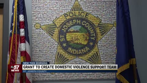 Grant to create domestic violence support team in SJCPD