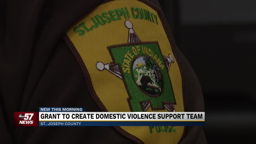 Grant to create domestic violence support team in SJCPD 2