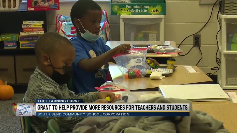 Grant to help more resources for teachers and students
