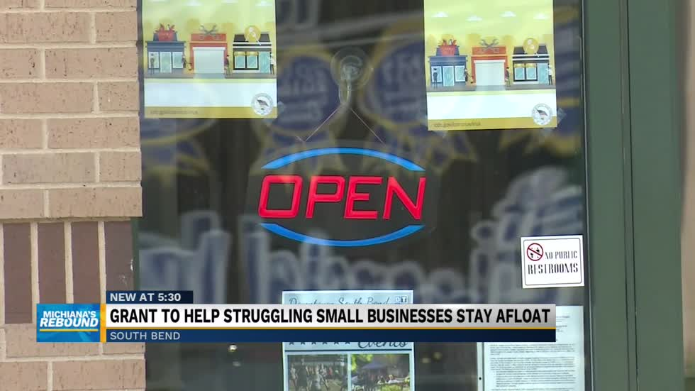 Grant to help struggling small businesses stay afloat