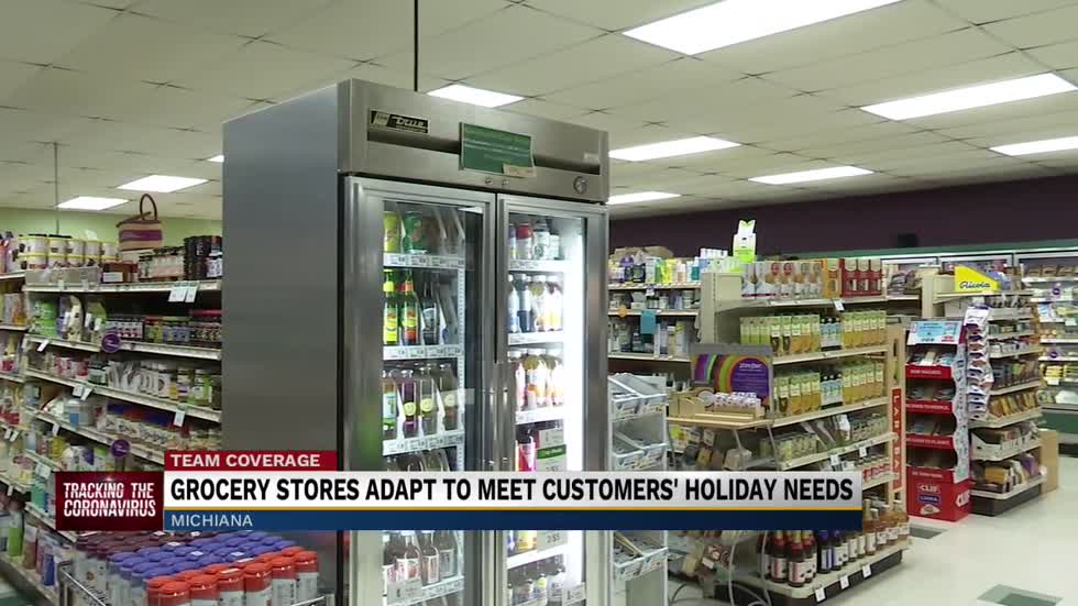 Grocery stores adjust to families having smaller Thanksgiving...