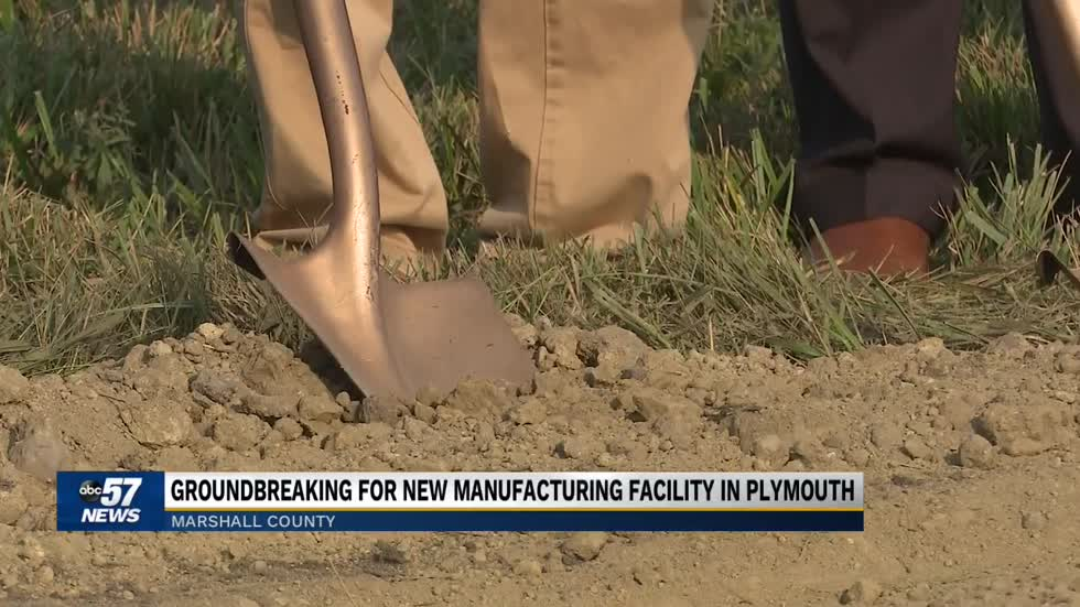 Ground broken for new manufacturing center