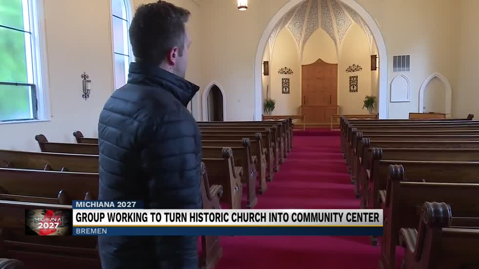 Group working to transform old church into community center in Bremen