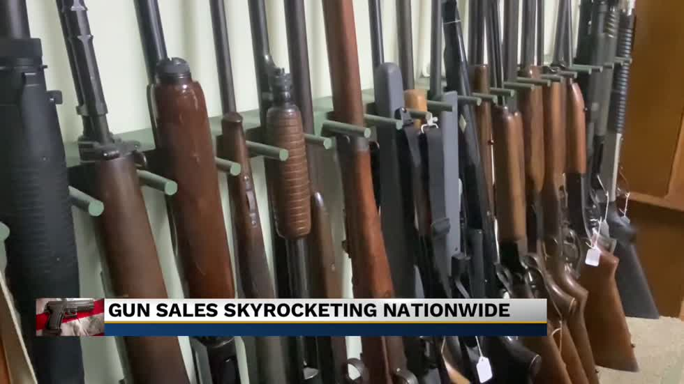 The gun industry sees new highs as sales skyrocket across the...