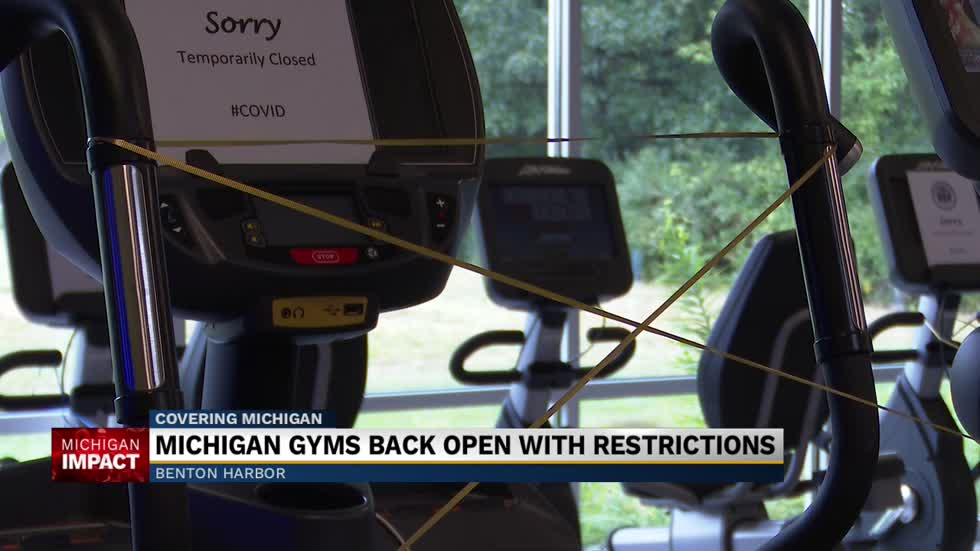 Gyms reopen in Michigan for the first time in half a year 2