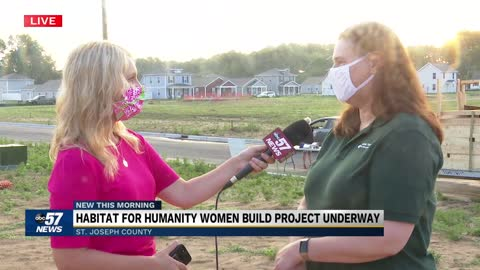 Habitat for Humanity Women Build project underway 3