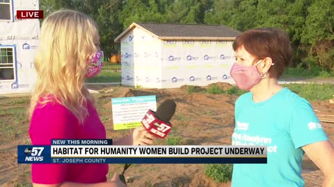 Habitat for Humanity Women Build project underway 4