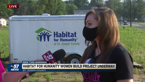 Habitat for Humanity Women Build project underway 5