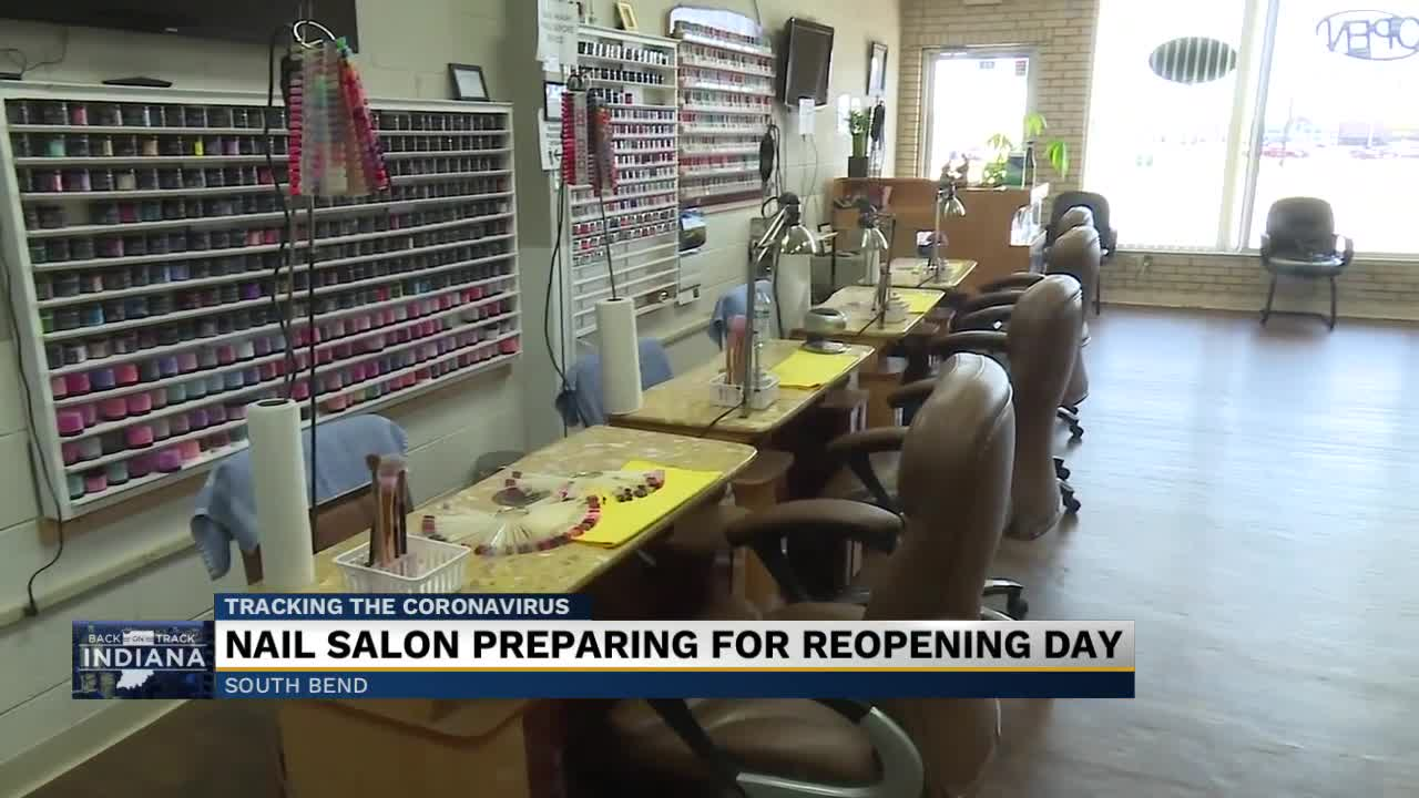 Hair Nail Salons Are Preparing For Reopening Monday