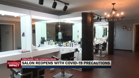 Hair, nail salons are preparing for reopening Monday 2