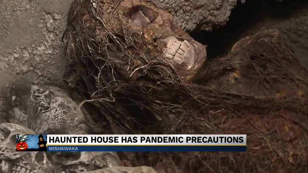 Haunted house has pandemic precautions
