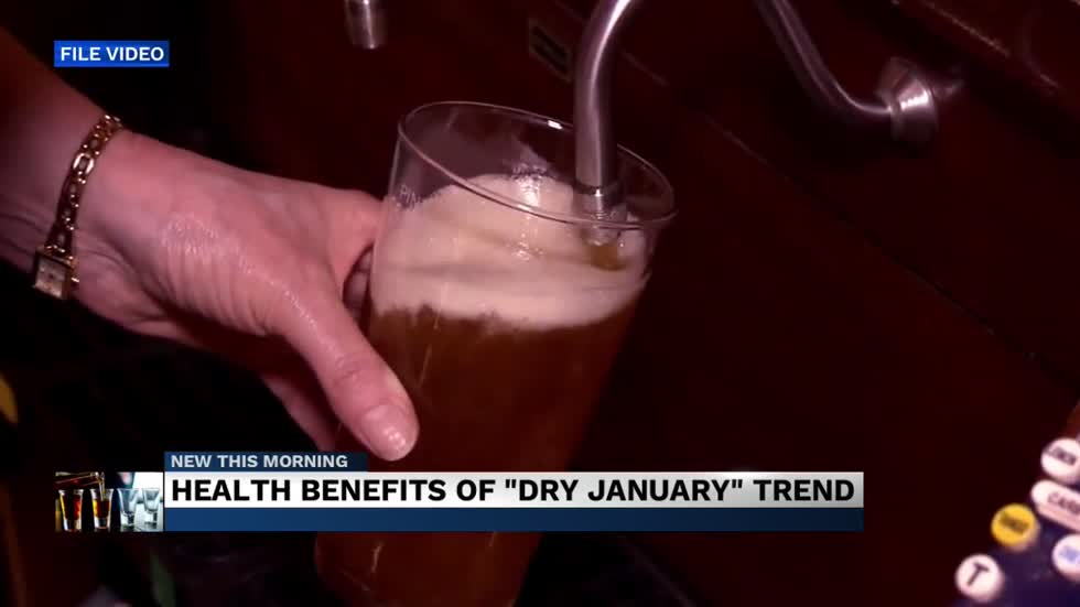 Health benefits of the 'dry January' challenge