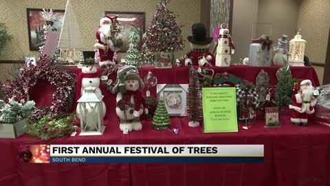 "Healthwin in South Bend hosts ""Festival of Trees"" event"