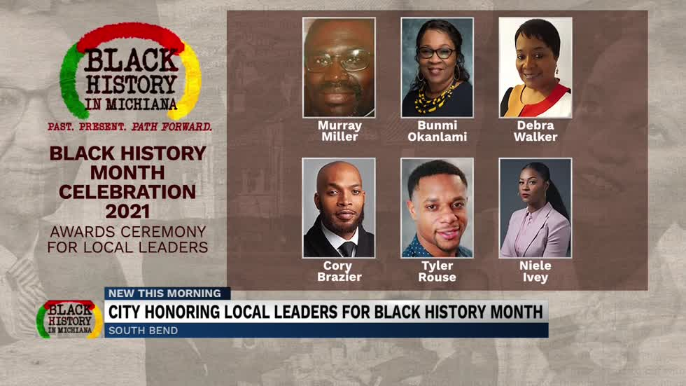 City of South Bend honors local leaders for Black History Month