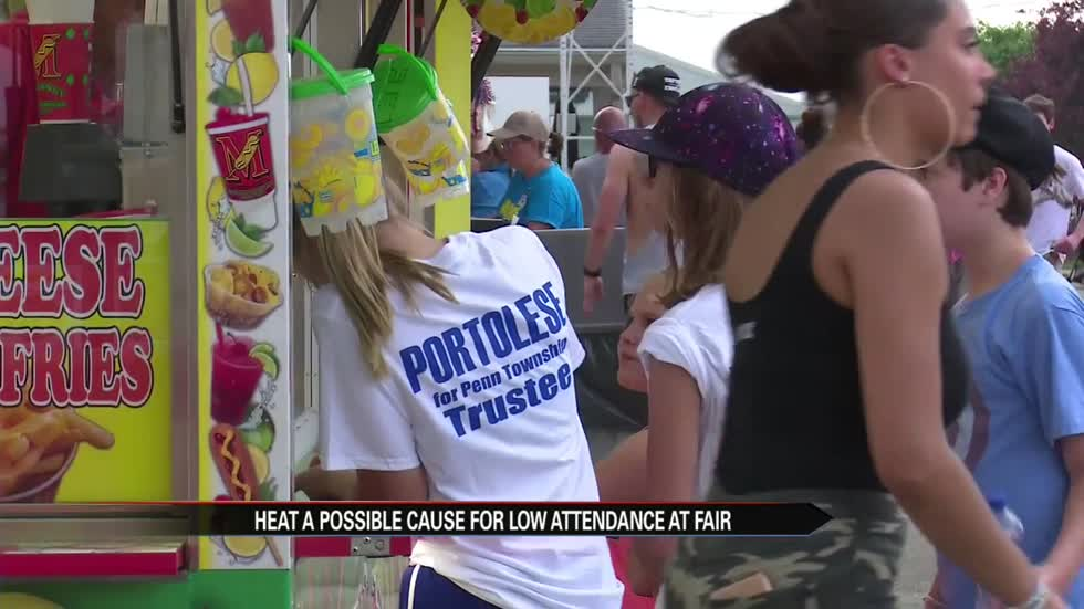 Heat a possible cause for lower attendance turnout at fair