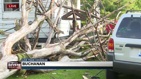 Heavy storms cause damage across Michiana