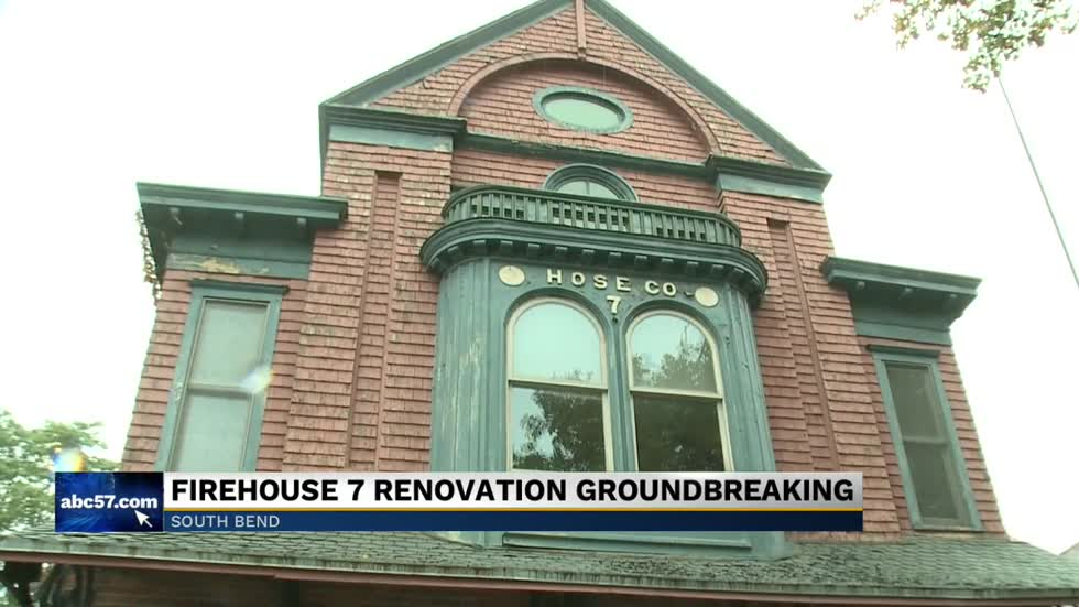Historic South Bend firehouse begins renovations