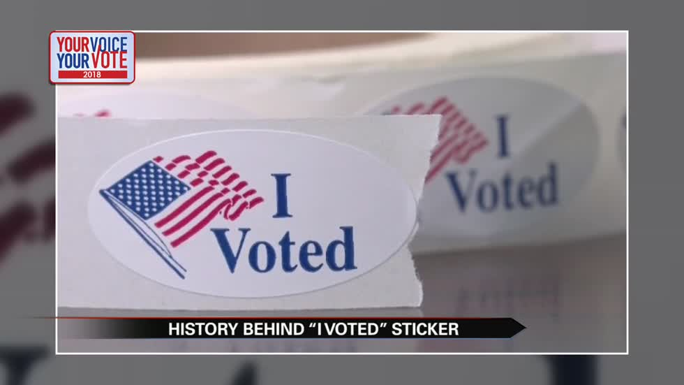 The tradition of the 'I Voted' sticker
