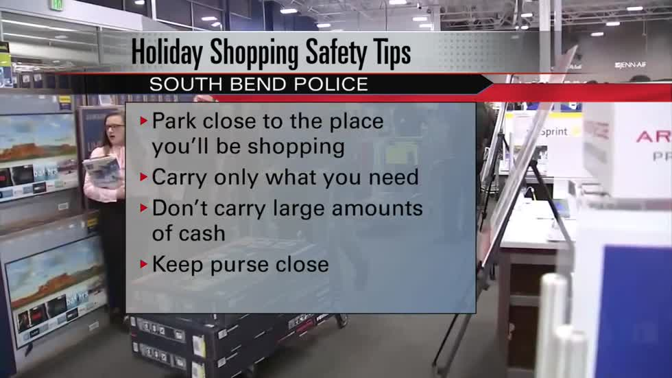Holiday shopping safety tips from local police