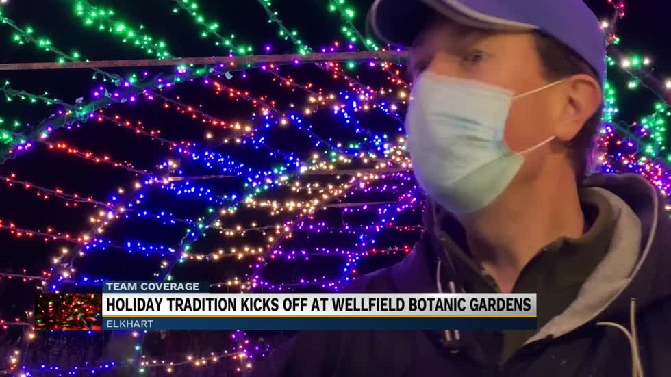 Fourth annual Winter Wonderland Holiday Lights show underway...