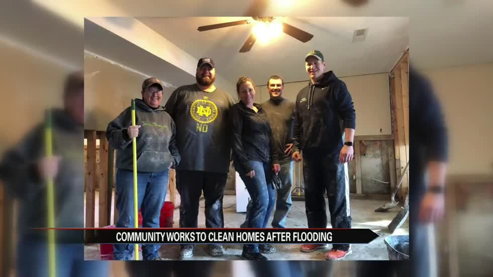 Recovery process starts as neighborhoods deal with flood aftermath